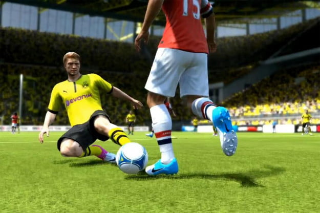 FIFA 13 screenshot slide xbox 360 playstation 3 wii psp ps vita pc