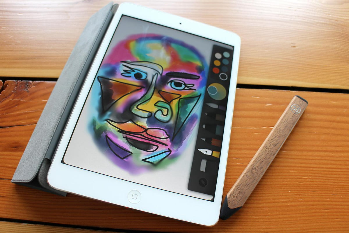 fiftythree paper tools free pencil gold and face drawing