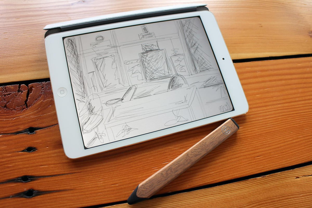 apple stylus patent texture fiftythree pencil and paper sketch