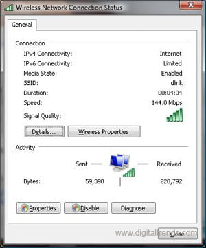 WiFi Connection Screen