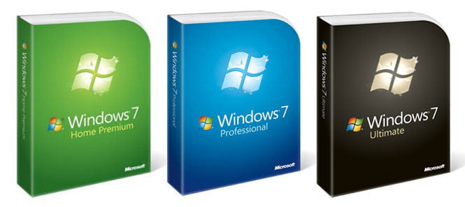 Windows 7 Packages