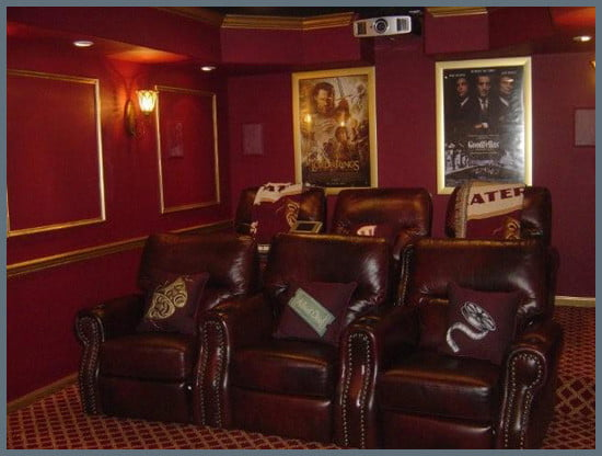 Vincent J. Bova's Home Theater