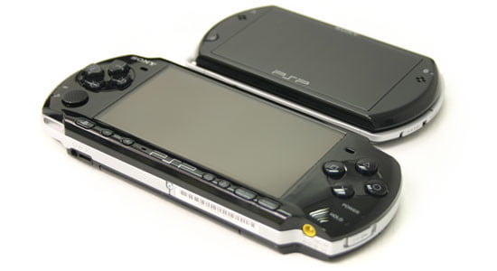 Sony PSP Go and PSP 3000