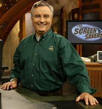 Leo Laporte during happier days on the set of The Screen Savers