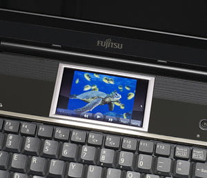 Fujitsu Lifebook N7010 Touch Zone touch display