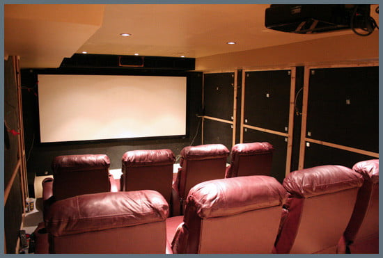 Steve Lavey's Home Theater