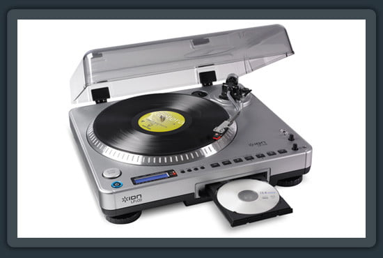 Ion LP 2 CD Turntable ww