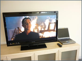 Streaming Media from Laptop