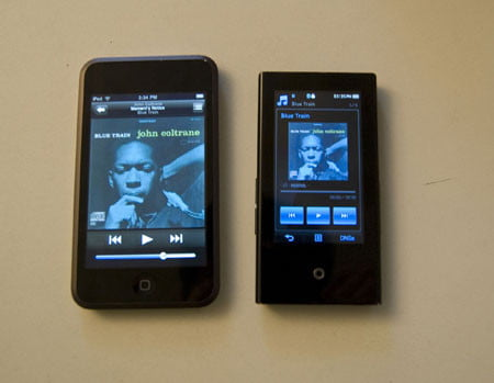 Samsung P2 and iPod Touch