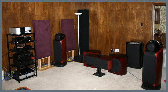 George Pilipovich's Home Theater