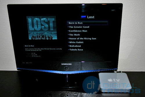 Samsung LN-s2651D and Apple TV