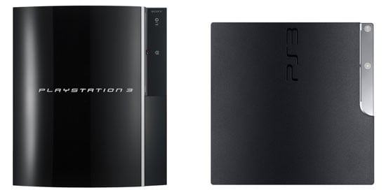 PS3 and PS3 Slim Compared