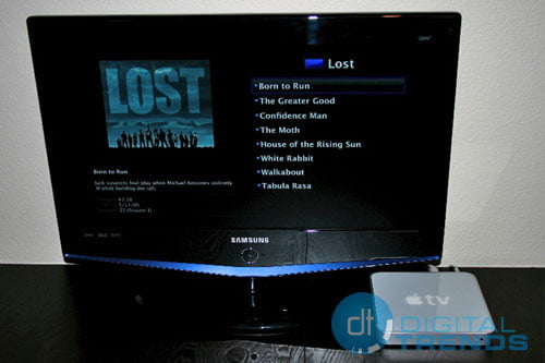 Lost on the Apple TV