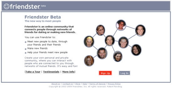 Friendster social network