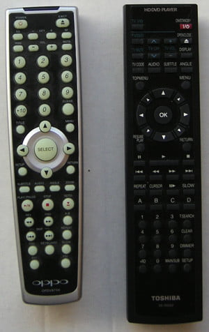 Toahibs HD-A20 Remote