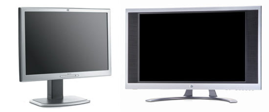 HP L2335 compared to the f2304