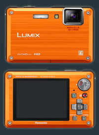 Panasonic Lumix DMC-TS1 Rugged Camera