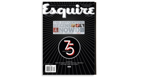 """Esquire's """"The 21st Century Begins Now"""" issue"""