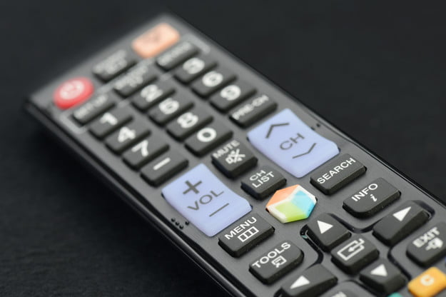 Samsung UN46ES6500 review remote