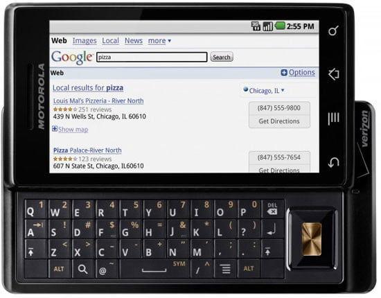 Motorola Droid Keyboard