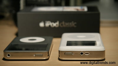 Apple iPod's Compared