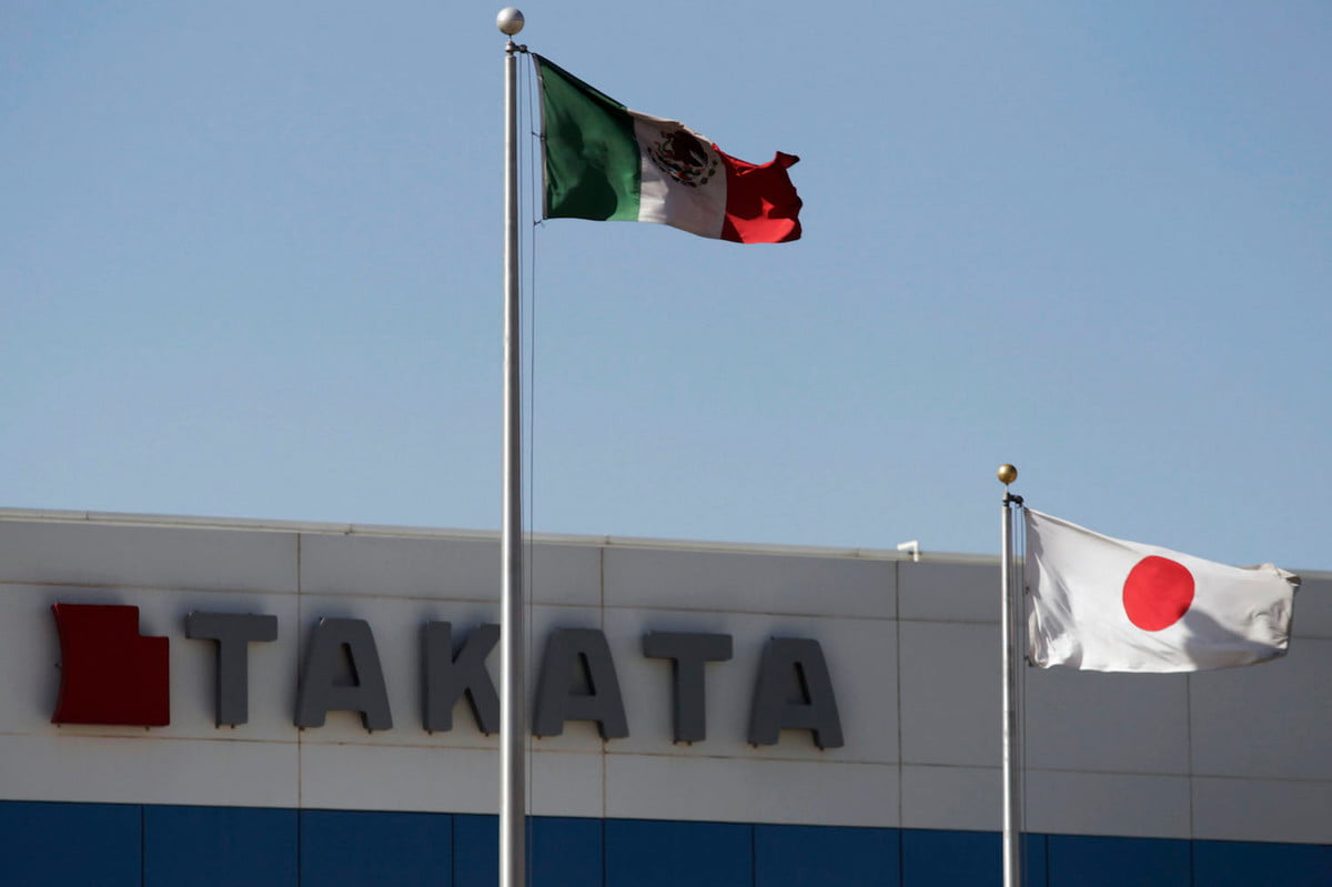 takata airbag delivery truck explosion mexico