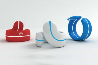 Fin bluetooth ring