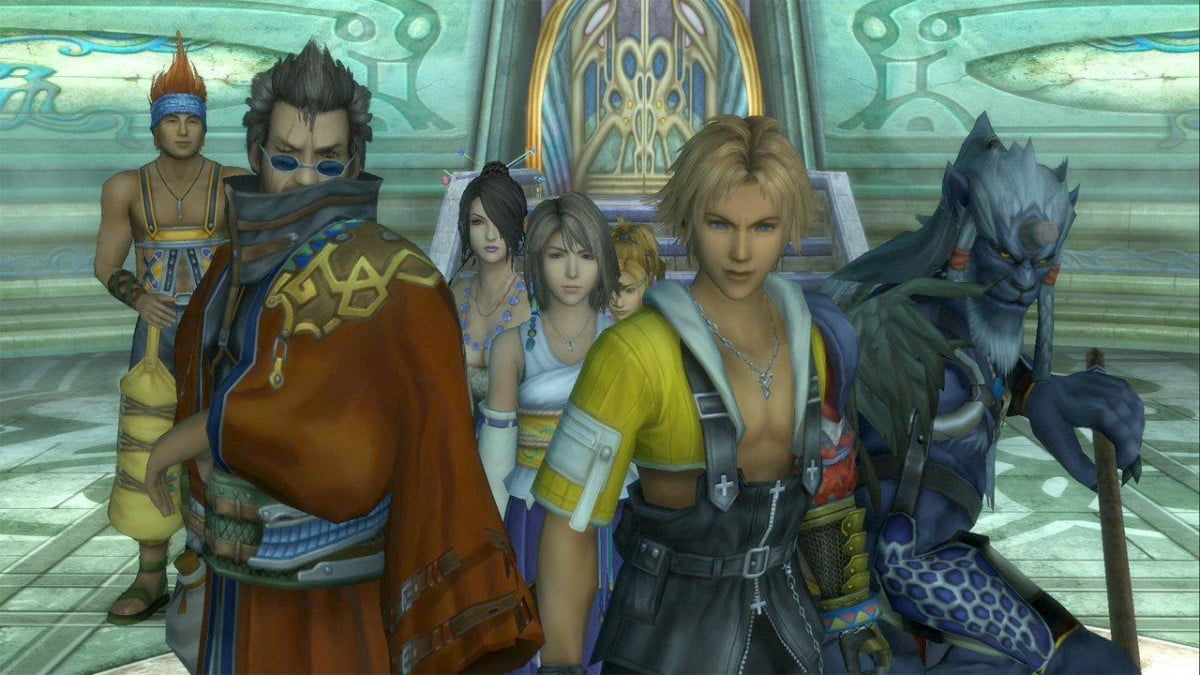 final fantasy xx  hd looks like coming playstation x