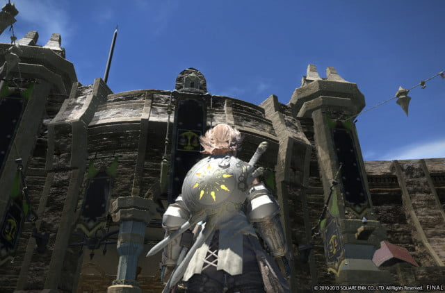 final fantasy xiv realm reborn comes ps  april beta february wooden castles