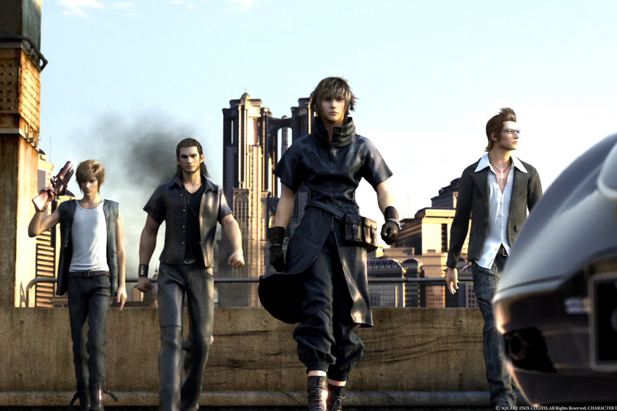final fantasy xv release date gall p