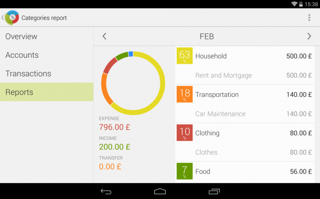 Financius_Android_tablet_app_screenshot