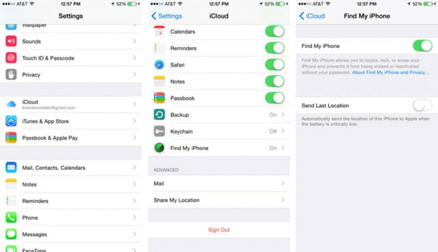 How to use find my phone on iphone 5