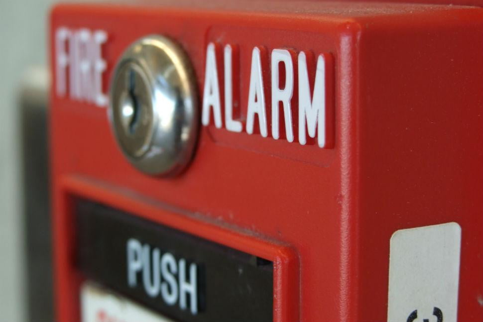 london firefighters use selfies as fire safety education tools alarm
