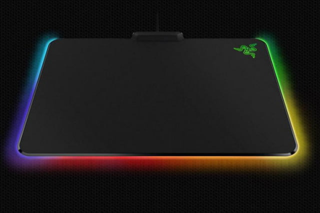 razer brings rgb lighting to the humble mouse mat firefly