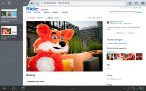Firefox for Android tablets