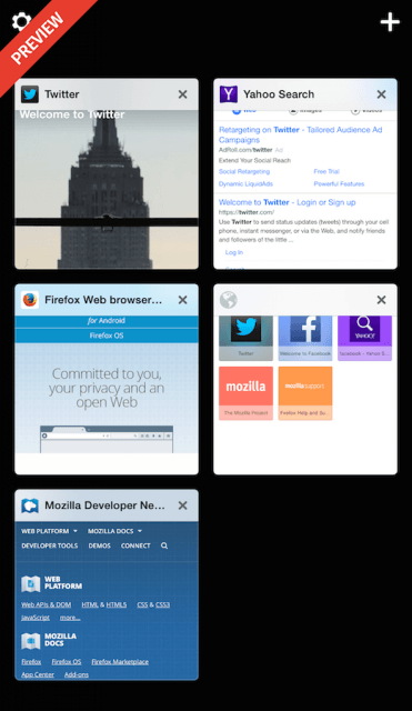 firefox for ios preview