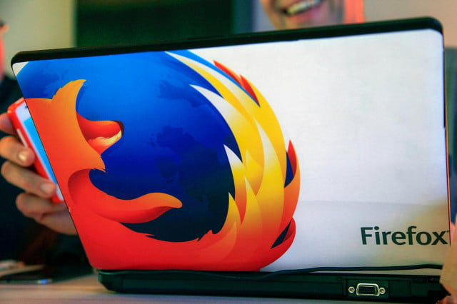 mozilla firefox browser updated with new privacy features laptop