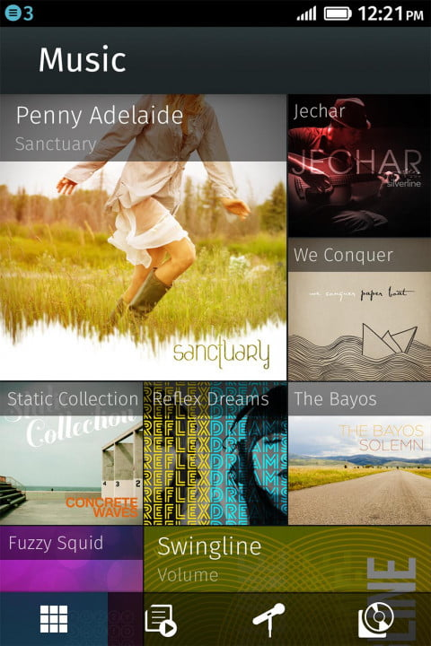firefox os review music