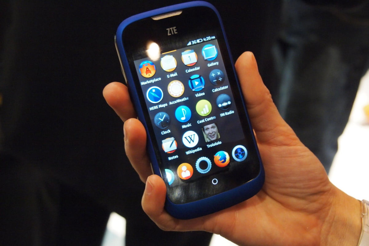 firefox os  update announced phone mwc