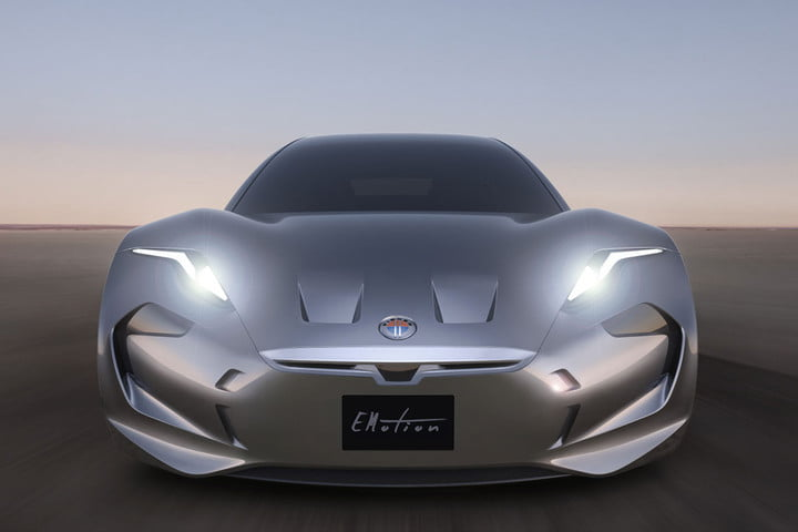 latest teaser shows the upcoming emotion electric vehicle has a handsome rear end fisker