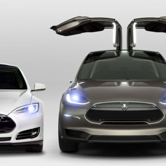 fisker model x falconwings