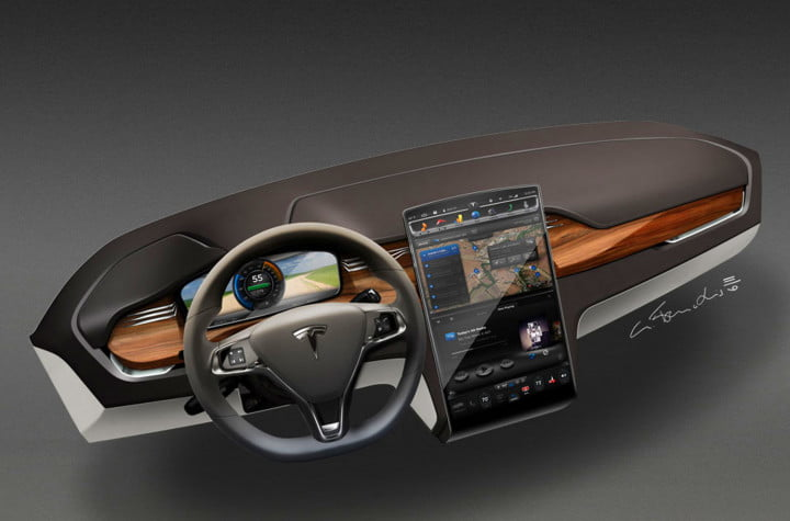 fisker and tesla battle to avoid becoming the next delorean model x interior