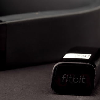 FitBit Flex review band and receiver
