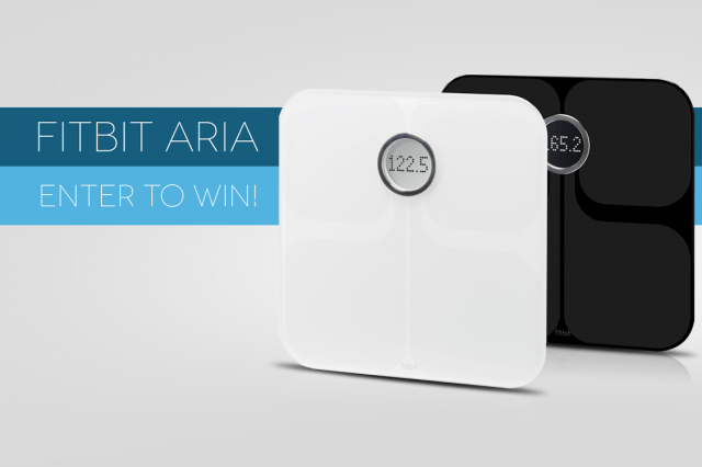 dt giveaways win fitbit aria wi fi smart scale fitbitaria