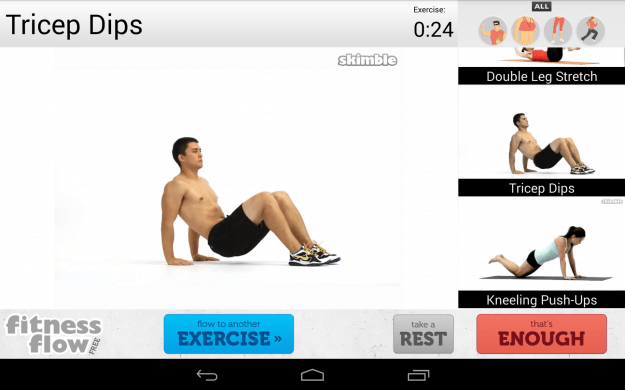 Fitness_Flow_Android_tablet_app_screenshot