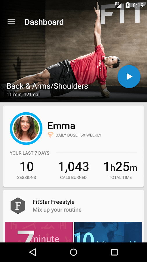 FitStar_Android_App_Screenshot_01