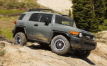 The discontinued FJ Cruiser hearkened back to the heyday of rugged 4WD vehicles.