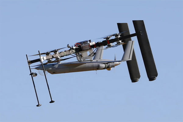 Insitu's octocopter carrying the ScanEagle