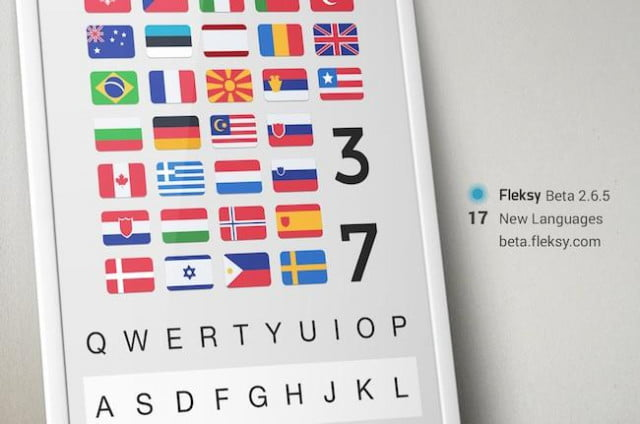 fleksy new languages android beta shot