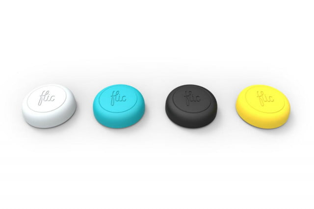 flic smart wireless button lets play music make calls order pizza